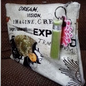Large accessory make up travel bag